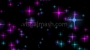 Coloured Stars Coming at ya Magenta-Blue