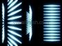 Glow Streaks Cylinder Split Blue