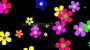 Retro Flowers 2 - Flower Power - Multi Colour