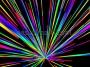 Retro Starburst Space Warp Multicolour 1