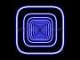 Squares Flyout Tunnel Blue VJ Loop