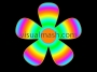 Retro Big Psychedelic Flower 1 - Flower Power - Multi Colour