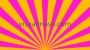 Retro Psychedelic Sun Rays Multi Colour 1