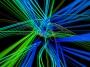 Light Strings Multi 1 Coming At Ya Green Blue VJ Loop