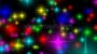 Multi Coloured Stars Coming at ya