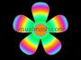 Retro Big Psychedelic Flower 1 - Flower Power - Multi Colour
