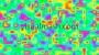 Retro Psychedelic Liquid Multi Colour 1