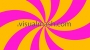 Retro Psychedelic Rays Twist Multi Colour 1