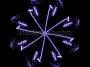 Rocket Dust Synchronised Dancers Purple